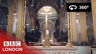 360 Video: Inside St Paul's Cathedral - BBC London thumbnail