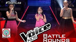 "The Voice Kids PH 2015 Battle Performance: ""Somewhere Out There"" by Bianca vs Esang vs Stephanie"