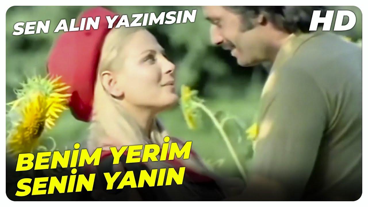 Sen Alın Yazımsın - Anadolu'da Kızlar Sevdiklerine Ayna Tutarlarmış! | Eski Türk Filmi