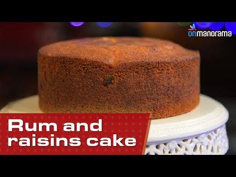 Rum And Raisins Cake