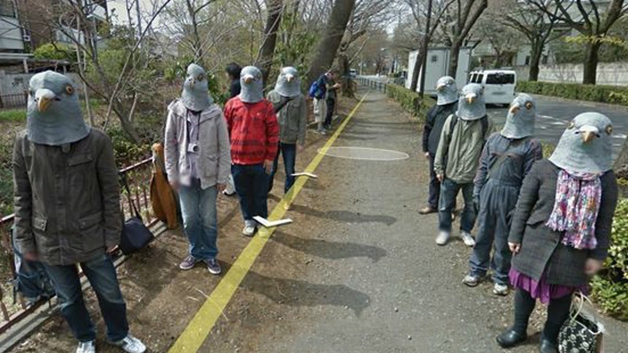 Funny Google Street View Photos YouTube - 29 weird and unexpected things you can find on google street view