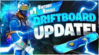 NEW FORTNITE DRIFT BOARD UPDATE! (Fortnite Gameplay Live)