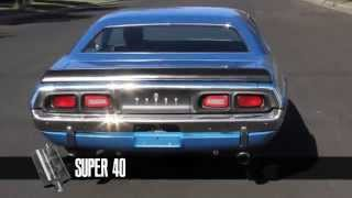 Sound Testing Flowmaster Mufflers Super 10 40 44 50 Pro Series Delta Flow On 1972 Dodge Challenger