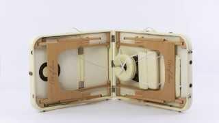 видео Складной массажный стол Vision Juventas Deluxe