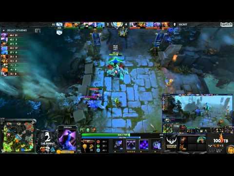 EG vs Secret - The Summit 2 LAN - G2