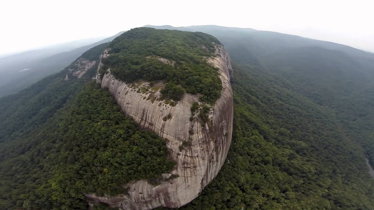 table rock sc aerial perspective youtube rh youtube com table rock sc table rock state park
