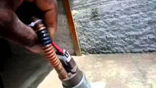 Como lavar carro com bomba de combustivel