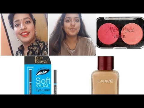 Makeup in just 10 minutes👌 affordable makeup