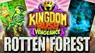 WIECZNIE ŻYWA ARMIA || ROTTEN FOREST || #007 | Kingdom Rush Vengeance | PL