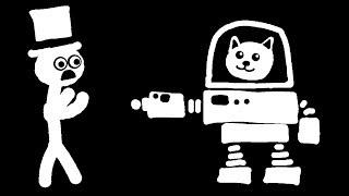 Zombey ist eine Mech-steuernde Katze. | Gato Roboto - Part 1