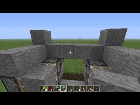 Minecraft Tutorial Porte A Pistoni Youtube