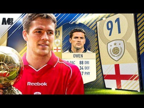 FIFA 18 PRIME OWEN REVIEW | 91 PRIME OWEN PLAYER REVIEW | FIFA 18 ULTIMATE TEAM
