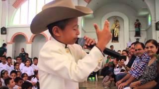 David Santiago Peña López la voz kids - Talento Llanero.