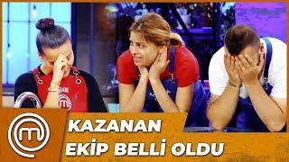 İkinci Dokunulmazlığı Kazanan Takım   MasterChef Türkiye 15.Bölüm