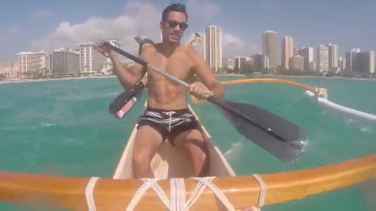 Surfing Waikiki Beach With Outrigger Canoeing