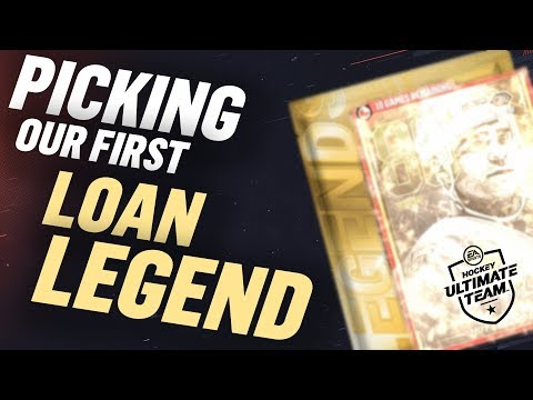 OUR FIRST LOAN LEGEND IS...? | NHL 19 HUT Pack Opening