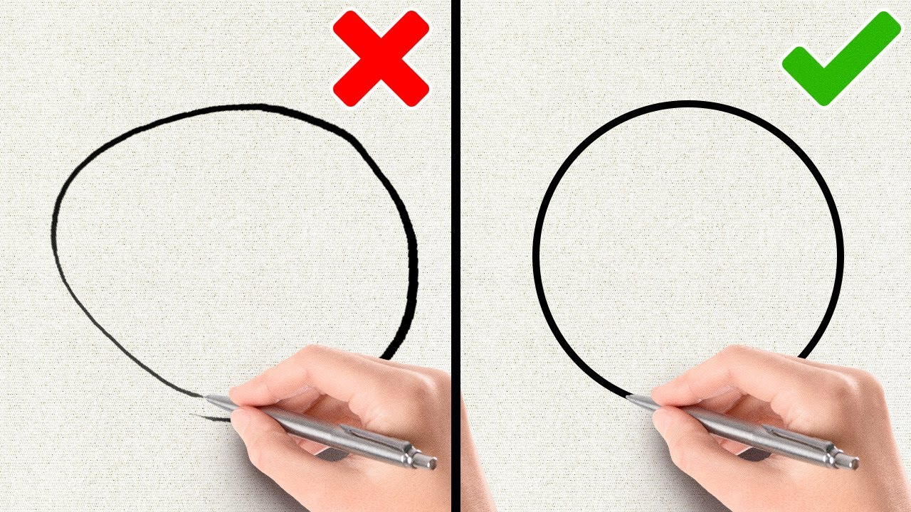 EASY DRAWING TRICKS FOR BEGINNERS
