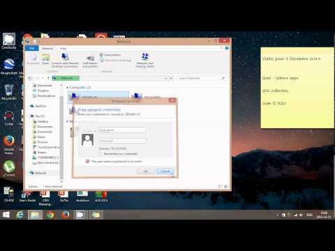windows 8.1 network sharing files folders