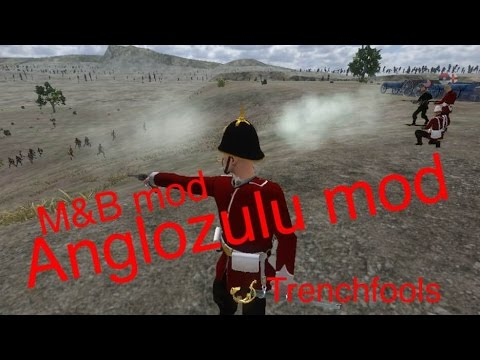 M&B Anglo Zulu mod- Heavily outnumbered Battle