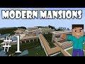Minecraft - Как да си направим модерно Имение | епизод 1 |