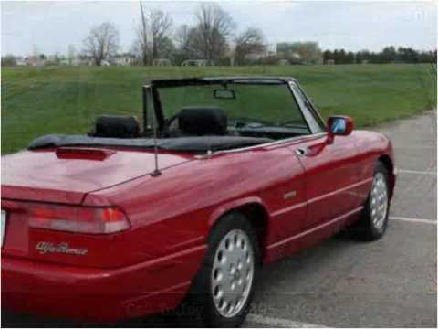 Alfa Romeo Spider Used Cars Dublin OH YouTube - 1994 alfa romeo spider