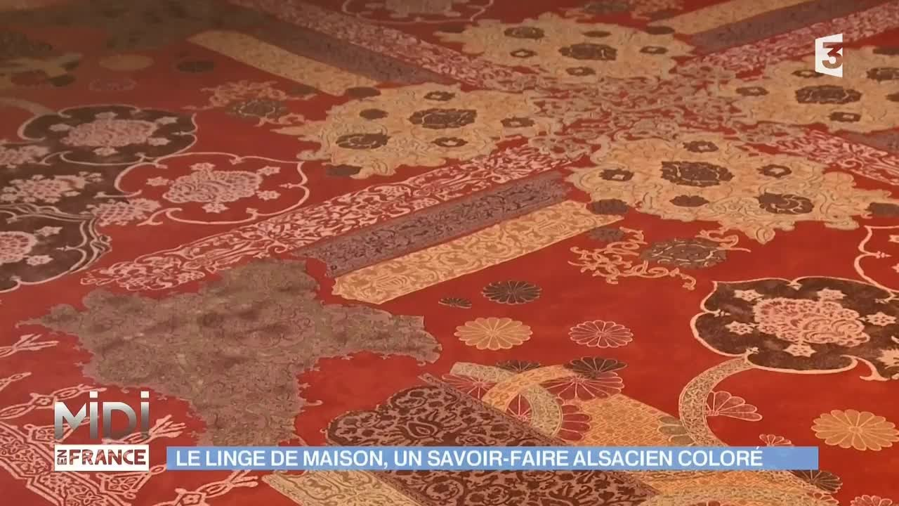 Linge De Lit Made In France Made In France Le Linge De Maison Un Savoir Faire Alsacien Coloré