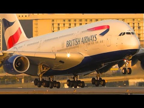 ALL 8 Airbus A380 Operators Landing at LAX | Los Angeles Airport Plane Spotting