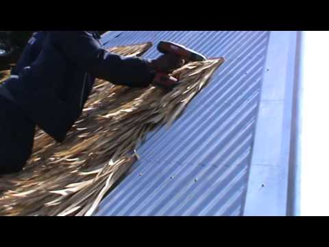 Synthetic Thatch   FiberPalm Bali Installation