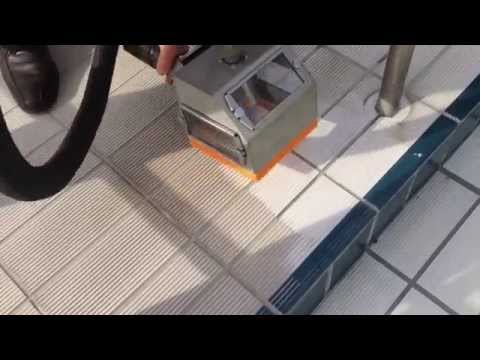 Safety Tile Cleaning With Cleaning Equipment Tornado ACS