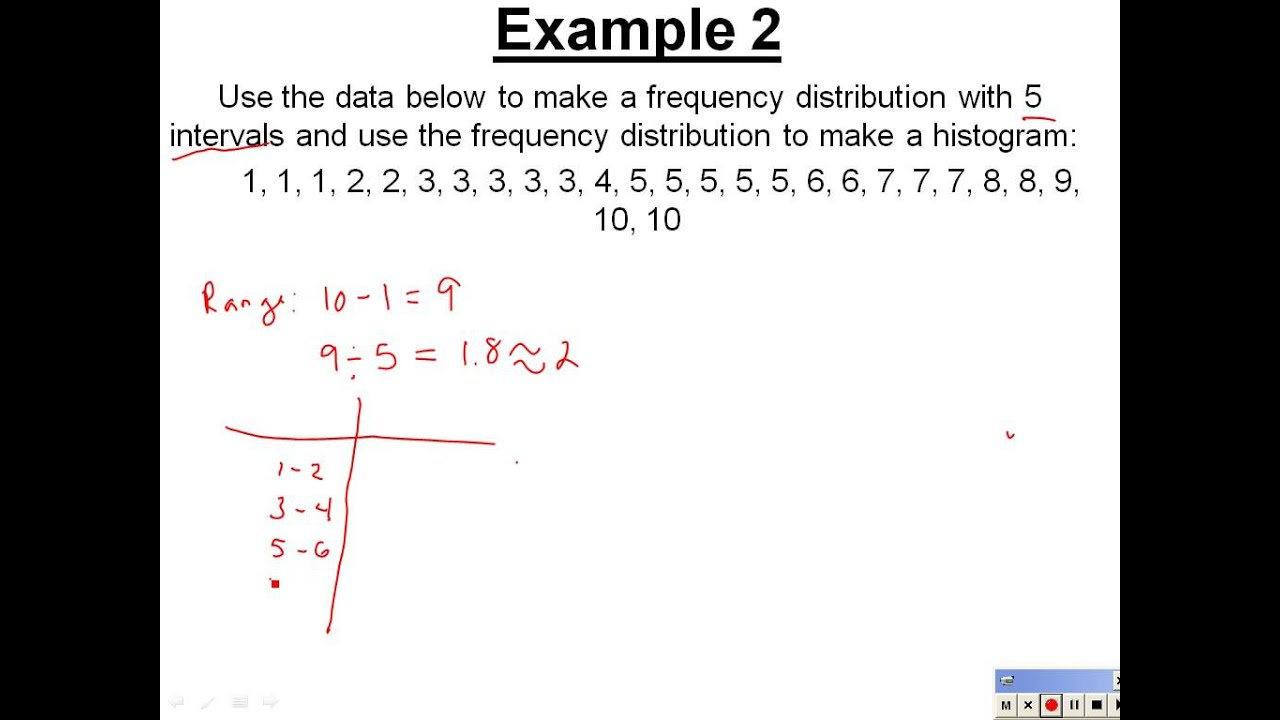 Alg 2 Lecture Notes 9.1 Introduction to Statistics Part 1 - YouTube