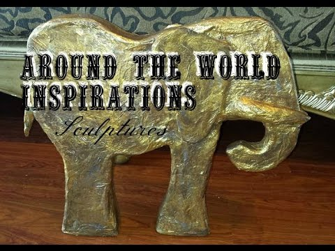 "Around the World Inspirations ""African Sculptures""  (Craft like a Duck!)"