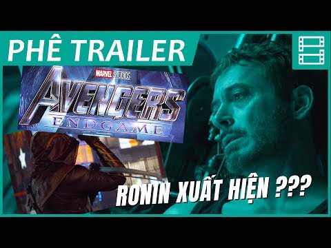 AVENGERS 4: ENDGAME - Phân tích trailer 1 & Giả thuyết