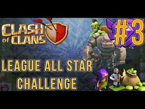 Clash Of Clans League All Star 2000 Trophies - Episode 3