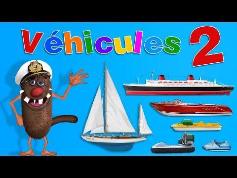 Foufou - Les Véhicules pour les enfants (Learn Sea Vehicles for Kids - Serie 02) 4k