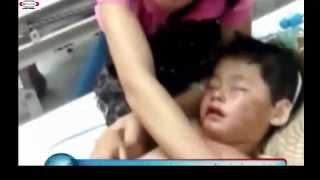 Repeat youtube video Bé gái 2 tuổi bị bạo hành dã man, nhét băng vệ sinh vào miệng, đánh gẫy răng