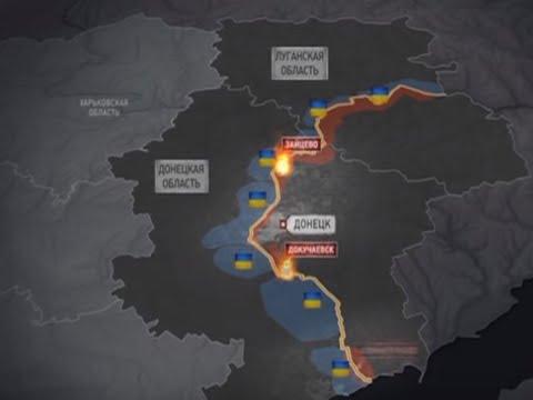 Опубликована карта возможного наступления ВСУ на Донбасс (видео)