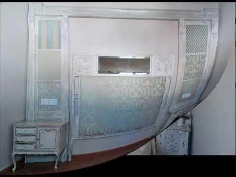 Dormitorio estilo shabby chic con piezas renovadas youtube - Dormitorio shabby chic ...