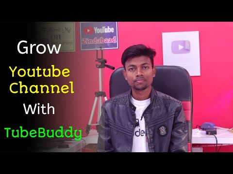 Grow Your Youtube Channel With The Help Of TubeBuddy 🔥