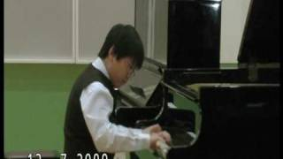 Prokofiev - Scherzo performs by Lawrence Ng ( 10 yrs old )