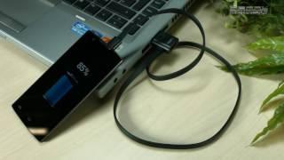 PX1895 - CABLE USB OTG M/F VERS MICRO-USB – 70CM