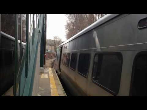 Metro-North Harlem Line Trains at Four Stations