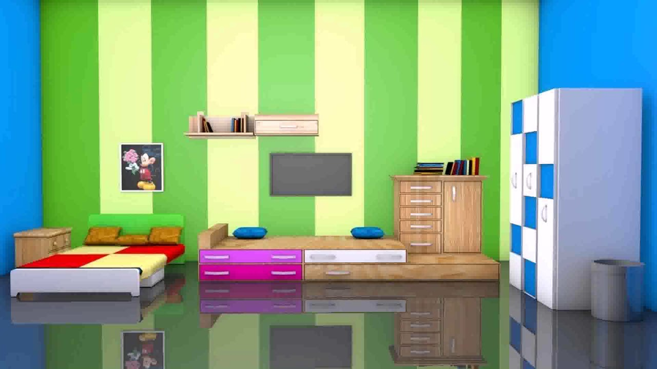 Bedroom Interior Design 3d Models Free Download Youtube