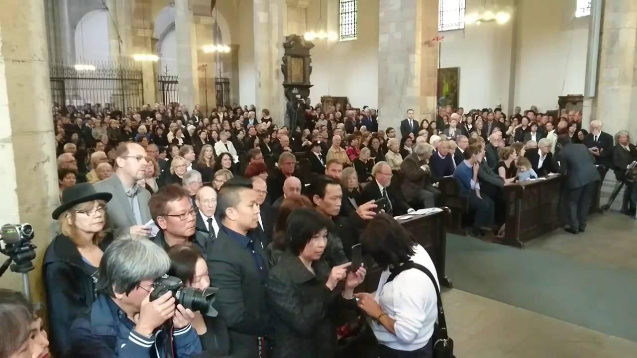 Rupert Neudeck Beerdigung