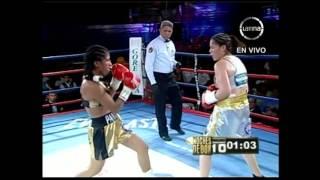 Una de las peleas más difíciles para la peruana, que sin embargo, s...