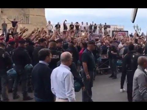 C1 SSC Napoli - Feyenoord Rotterdam fans banned in Napoli