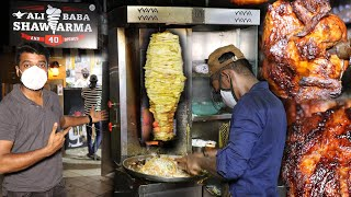 BEST EVER STREET FOOD IN CHENNAI !! Alibaba shawarma & 40 dishes