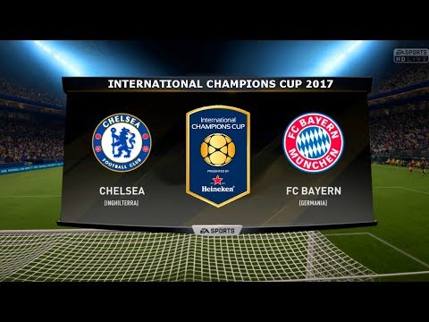 CHELSEA VS BAYERN MUNICH - INTERNATIONAL CHAMPIONS CUP 25/07/2017 |FIFA 17 Predicts - Pirelli7