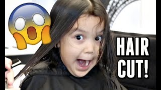 Twins FINALLY get their Hair Cut! -  ItsJudysLife Vlogs