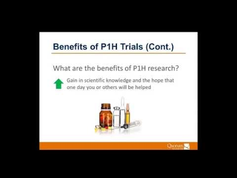 Quorum Review Webinar: Phase I Healthy Study Design & IRB Review