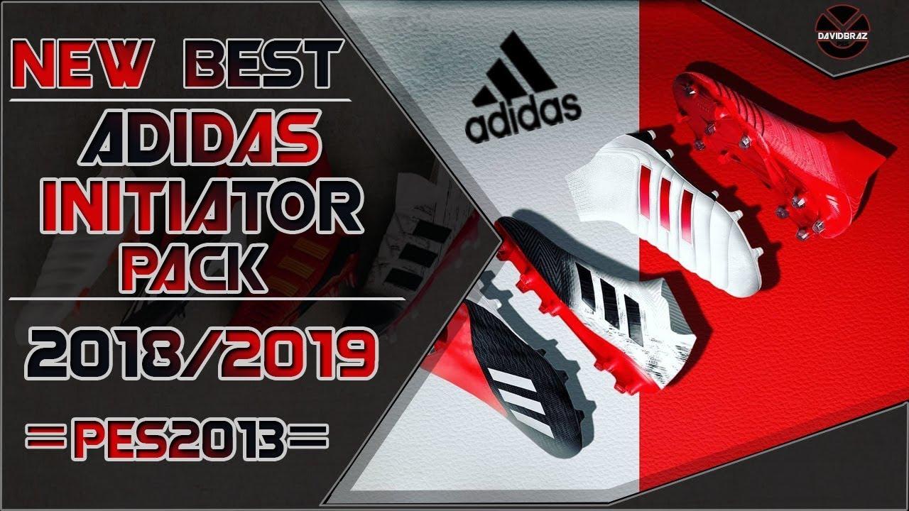 d1e4cd9cd PES 2013 | New Best • Adidas Initiator Pack • 2018 / 2019 • HD. DaViDBrAz